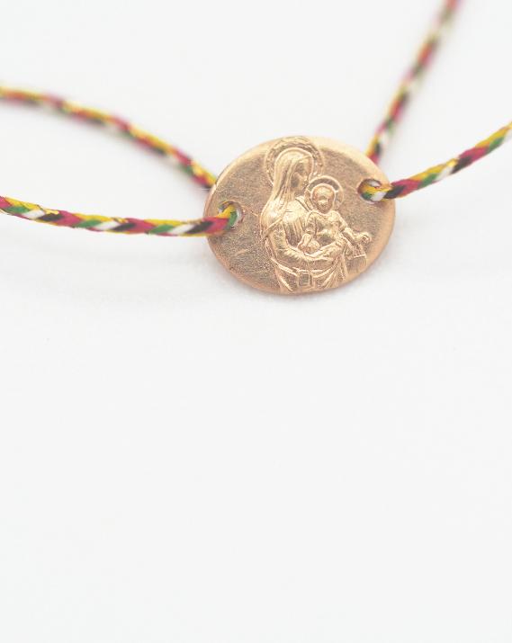 """Bracelet """"Riquiqui"""" Vierge Or 18 Carats - Catho Rétro"""